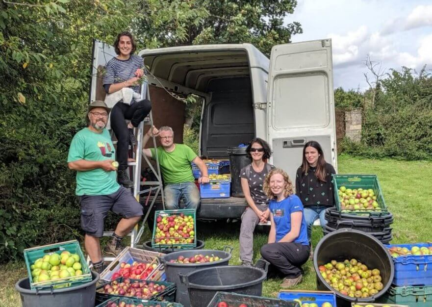 Sheffield Community Apple Pressing Juice