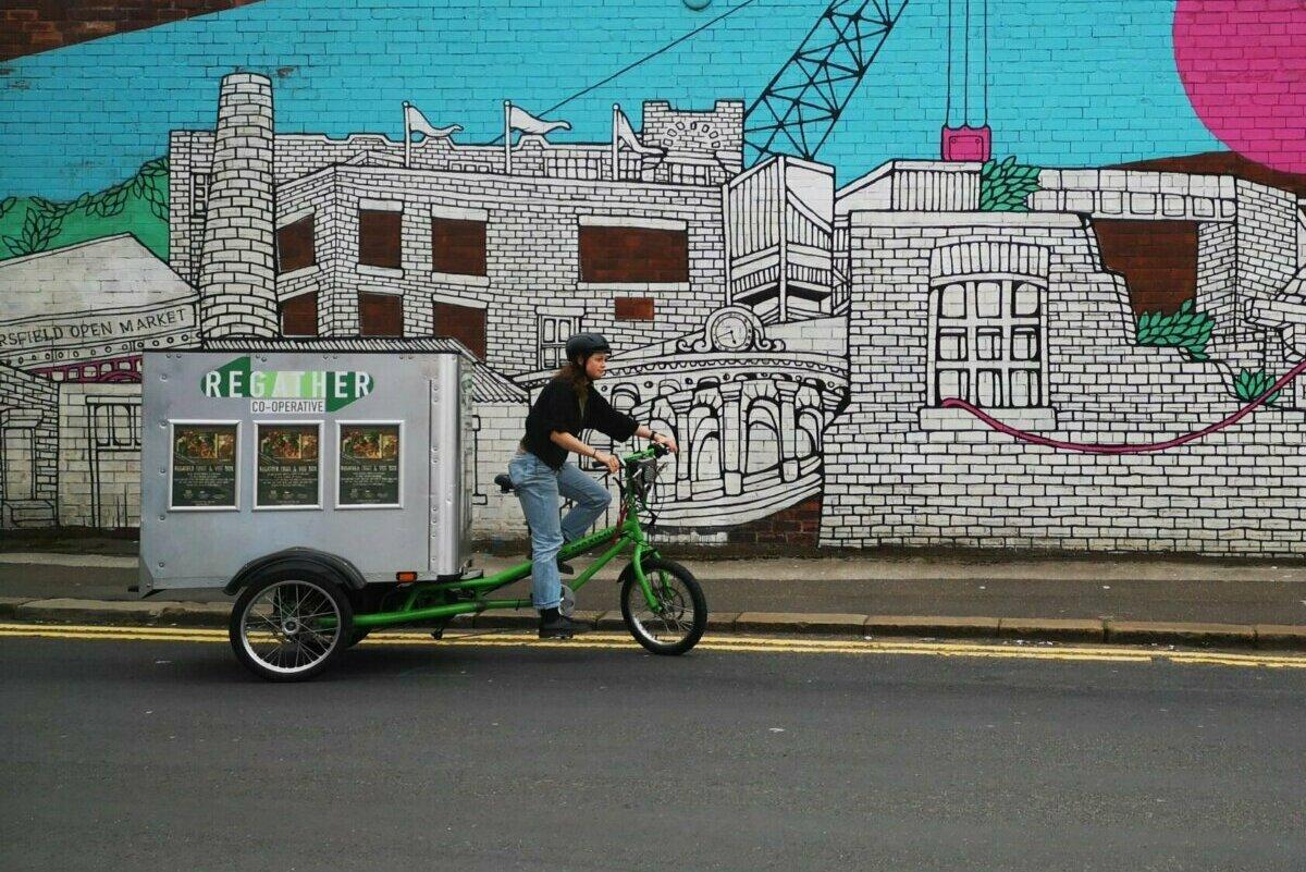 Regather Trike Delivery Kelham Island